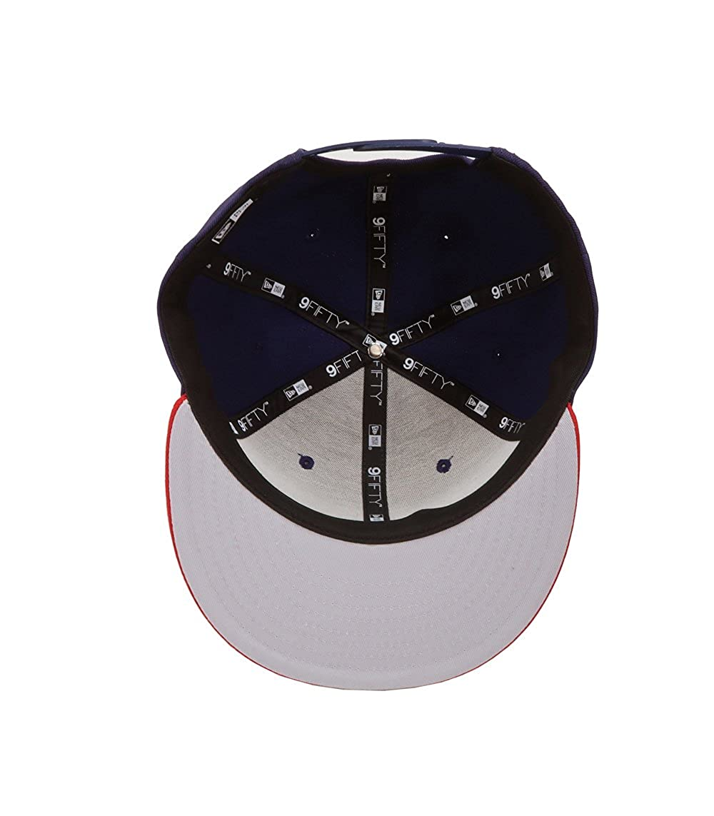 New Era 9Fifty Hat Chivas De Guadalajara Mexican League Blue/Red Soccer Cap at Amazon Mens Clothing store: