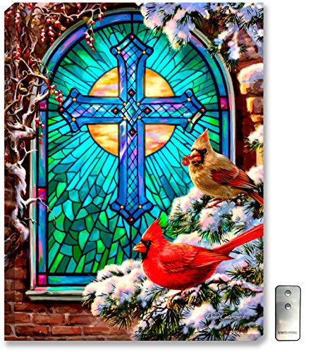 Glow Decor - stained glass wall art decorations