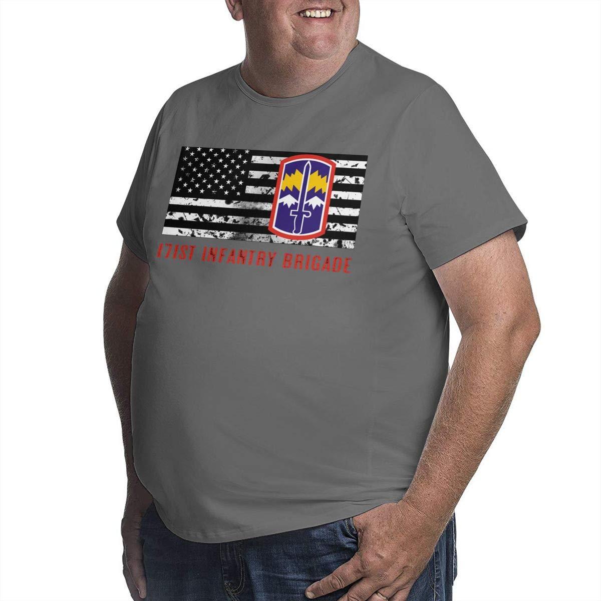 171st Infantry Brigade Mens Short Sleeve T-Shirt Big /& Tall Heavyweight T-Shirt
