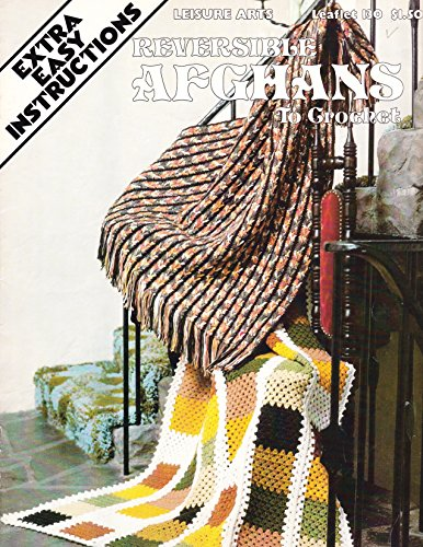 (Reversible Afghans to crochet Leisure Arts Leaflet 130, and Coats and Bonus book: Clarks Afghans to knit No. 203)