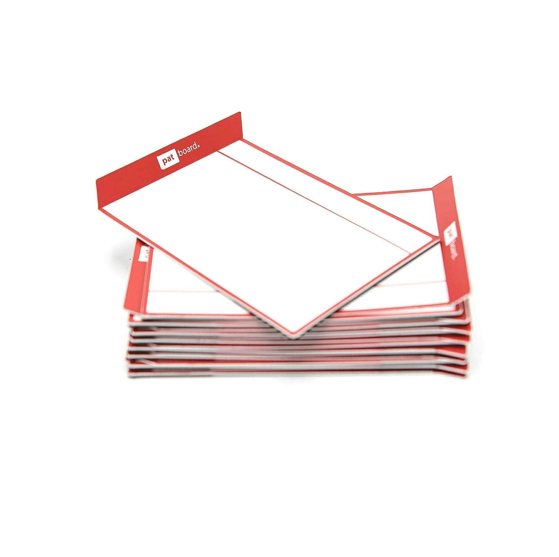 Notes magnetique agile pour scrum board ou kanban board - ensemble de 16 cartes - orange