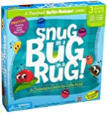 Peaceable Kingdom Snug as a Bug in a Rug Award Winning Preschool Skills Builder Game