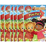 Amazon.com: Daniel Tiger Coloring and Activity Book with Stickers ...