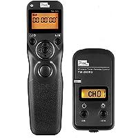 Pixel 2.4GHz Intervallomètre Télécommande de Minuteur Déclencheur TW-283/L1 pour Panasonic DMC G1 G2 G3 G5 G6 G7 G10 G70 GH4 GX7 FZ20K FZ20S FZ30 FZ30K FZ50K FZ50S FZ150 FZ200 FZ1000 FZ2000 FZ2500