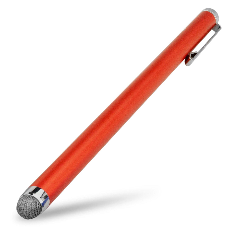BoxWave Kindle Voyage Stylus Pen, [EverTouch Capacitive Stylus XL] Stylus Pen with Large Barrel for Amazon Kindle Voyage - Bold Orange
