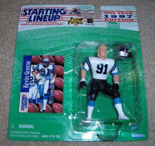 1997 Kevin Greene NFL Starting Lineup Figure (Panters Nfl)
