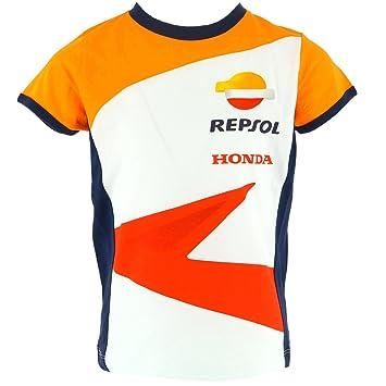 Honda Repsol Moto GP Team Logo Blanco Niños camiseta Oficial 2017 ...