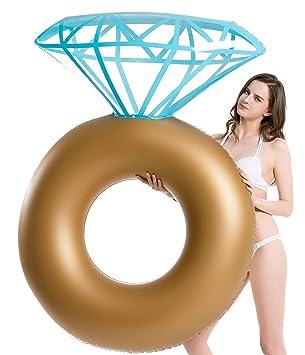Jasonwell Diamantes Colchonetas inflables Tumbona Flotante ...