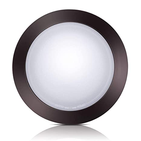 pretty nice c605a 93c03 Bronze Dimmable LED Disk Light,SOLLA 11