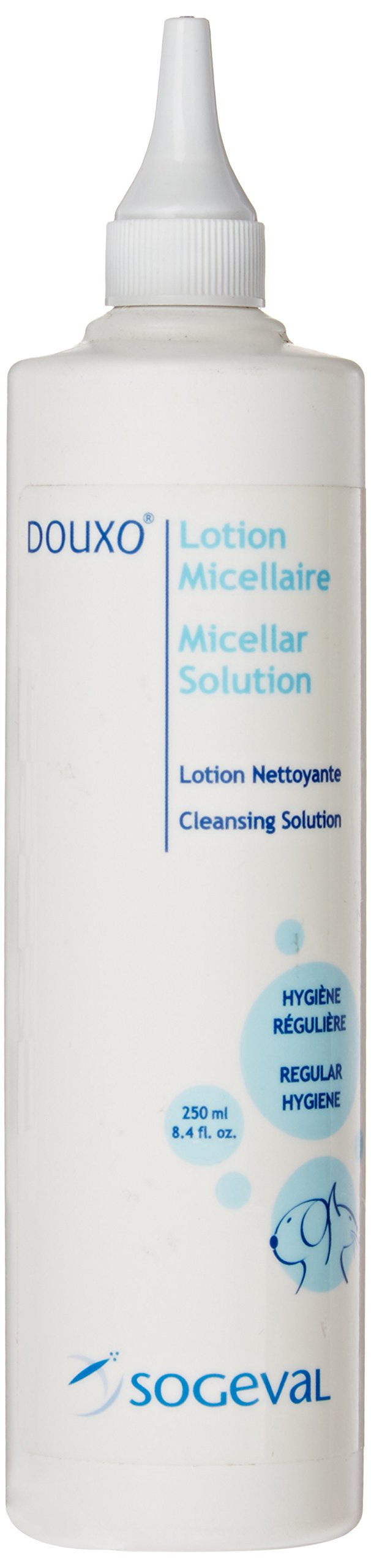 Sogeval Douxo Micellar Ear Cleansing Solution for Pets, 8.4-Ounce