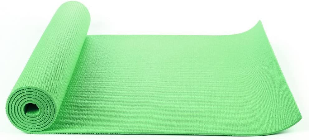 Mymixtrendz/® All purpose Multi Use Thick exercise yoga pilates camping mat Cushioned workout mat with carry case bag