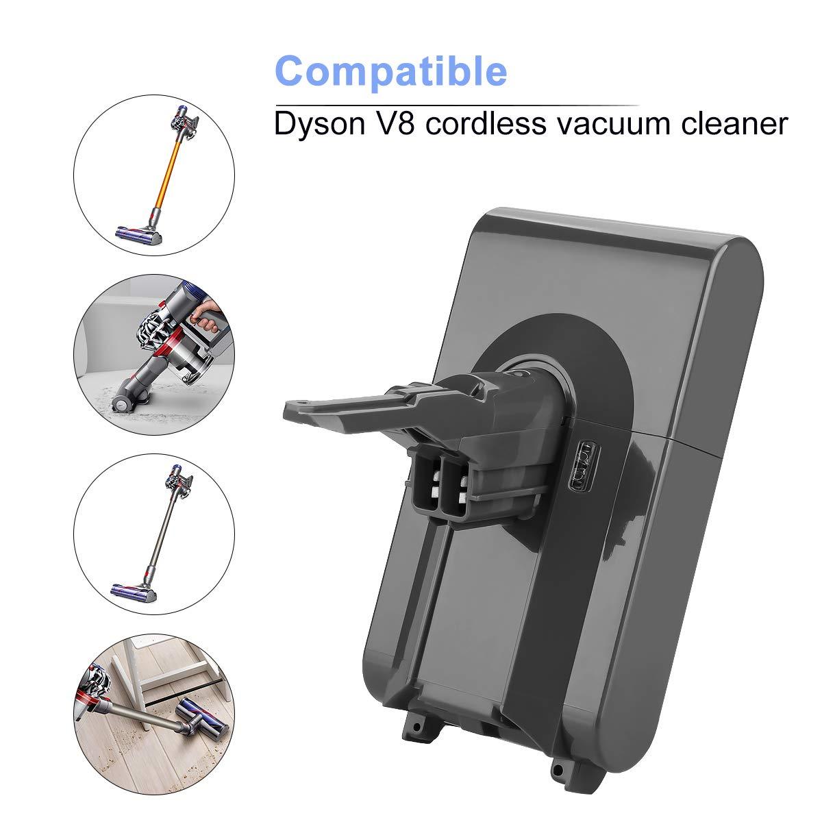 Amazon.com: Energup - Batería de repuesto para Dyson V8 (21 ...