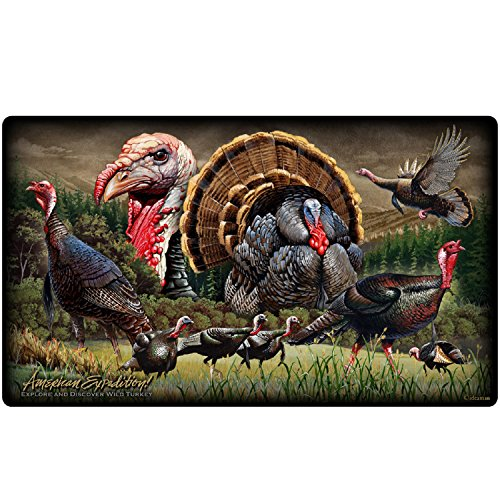 Wildlife Collage Tempered Glass Cutting Board