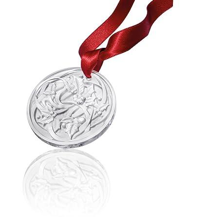 Lalique Crystal 2017 CHRISTMAS ORNAMENT ENTRELACS, Clear - Amazon.com: Lalique Crystal 2017 CHRISTMAS ORNAMENT ENTRELACS, Clear