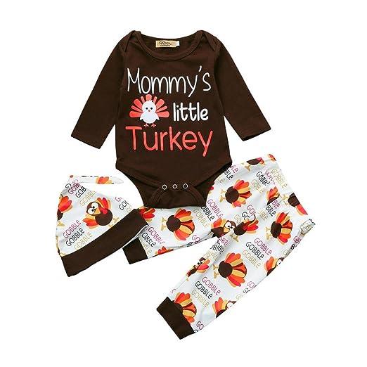 9bf70f78a876 Amazon.com  YJM 3Pcs Set Newborn Baby Girl Boy Arrow Tops Shirts+ ...
