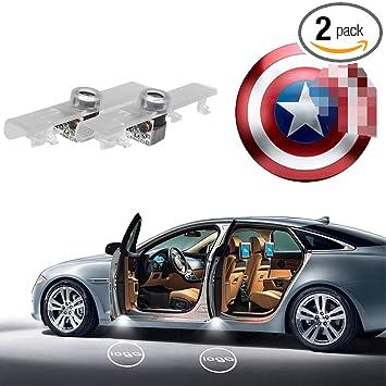 Amazon.com: Nissan Proyector de luces de puerta, proyector ...