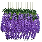 UArtlines-24-Pack-36-FeetPiece-Artificial-Fake-Wisteria-Vine-Ratta-Hanging-Garland-Silk-Flowers-String-Home-Party-Wedding-Decor-24-Purple