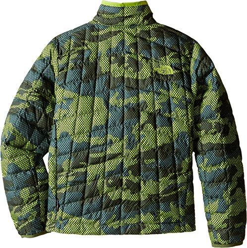 Jacket Stagione Verde Thermoball Face Camo Zip prima Full The Terrario North Maglia Ragazzo Del Oq4f60wv