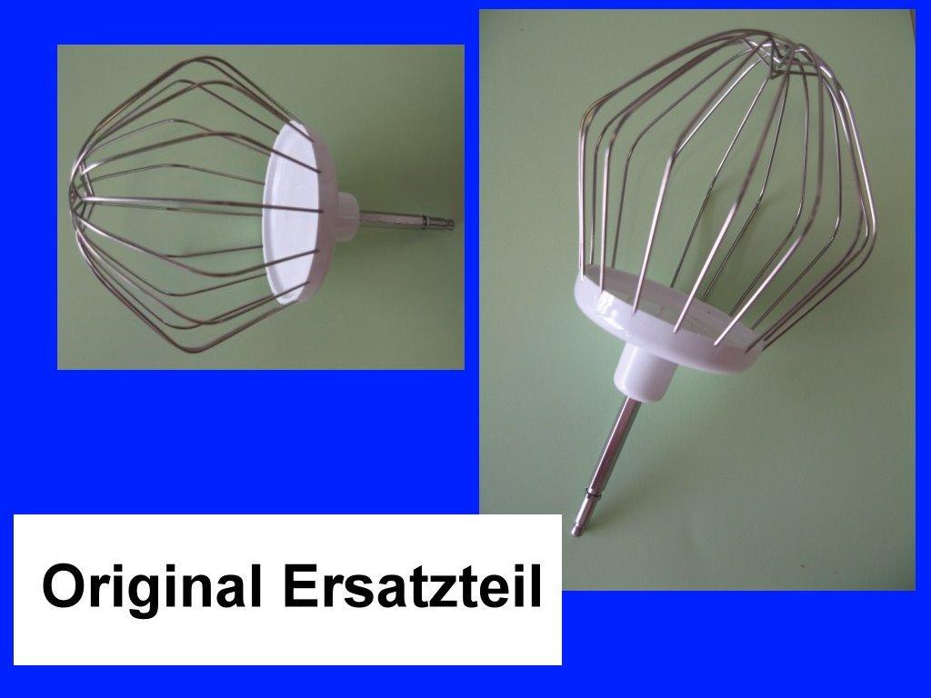 Bosch R/ührbesen Schneebesen Quirl 00653926 f K/üchenmaschine MUM 52120//02 u.v.a