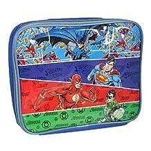 DC Justice League Batman/Superman/Flash and Green Lantern Lunch Bag, Multi-Colour