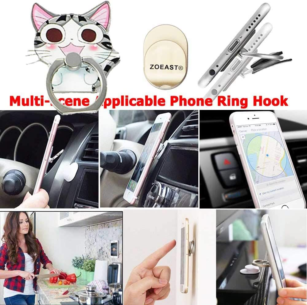 ZOEAST TM Upgrade Styles, Sweet Home Cat DIY Protector Kitty Pet Data Cable USB Charger Line Earphone Wire Saver Organizer Compatible with iPhone 5S SE 6 6S 7 8 Plus X XS XR Max iPad iPod iWatch