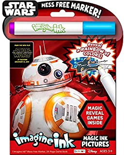 bendon star wars imagine ink activity book episode vii - Imagine Ink Coloring Book