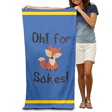 Amazon.com: Toalla de baño, OH para Fox Sake Adultos Toalla ...