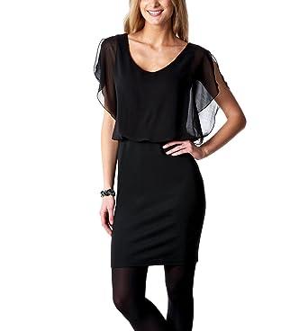 574e06e61e2fa Promod Robe de soirée femme Noir 42  Amazon.fr  Vêtements et accessoires