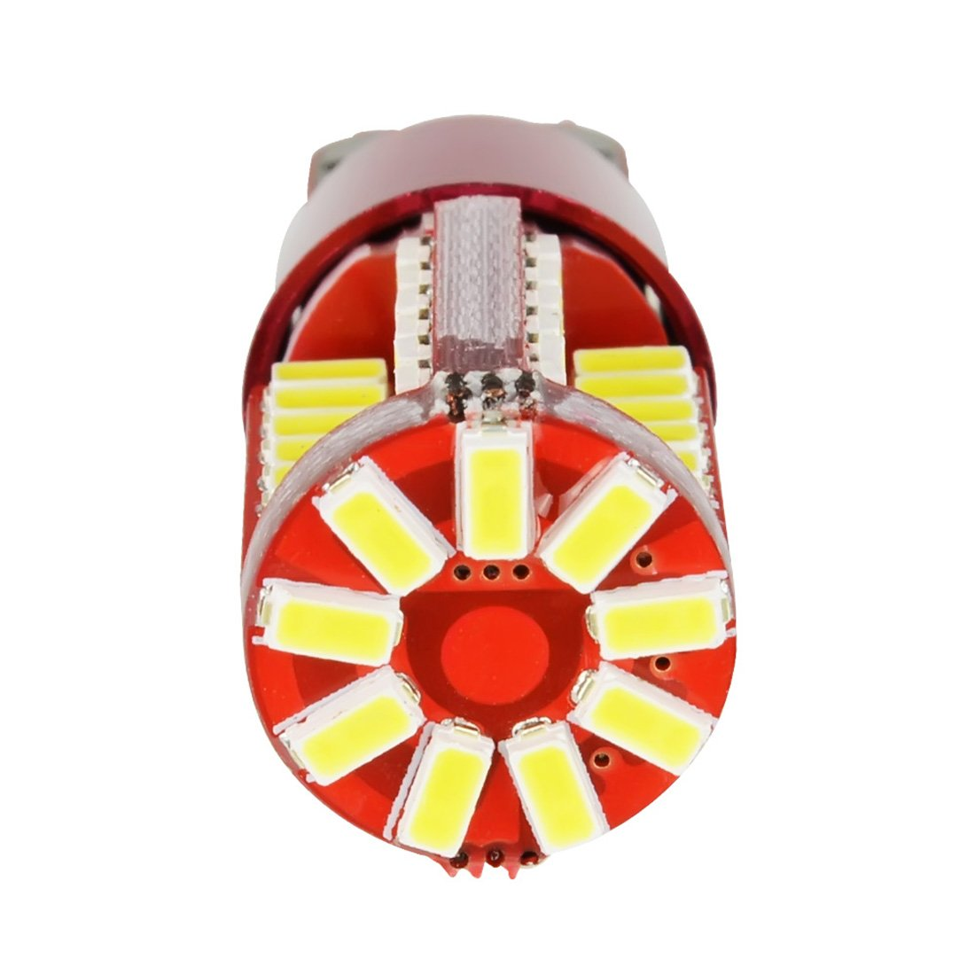 Safego 2x Bombillas W5W T10 Wedge LED 57SMD 3014 Luz Interior del Coche Laterales Blanco Xenon 194 168 6500K 12V: Amazon.es: Coche y moto