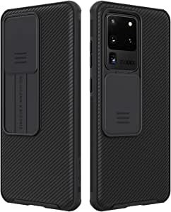 Nillkin Samsung Galaxy S20 Ultra / S20 Ultra 5G Case, CamShield Pro Series Case with Slide Camera Cover, Slim Stylish Protective case for Samsung Galaxy S20 Ultra / S20 Ultra 5G - Black