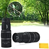Heartte 16x52 Dual Focus Optics Zoom Monocular Telescopes, Day and Night Vision, for Golf/Opera/Birds/Wildlife/Hunting/Camping/Hiking 66m/ 8000m (DTWYJ-16X52)