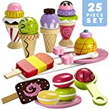 Dragon Drew Ice Cream Toy - Pretend Ice Cream Set - Ice Cream Set for Kids (25 PC Set)