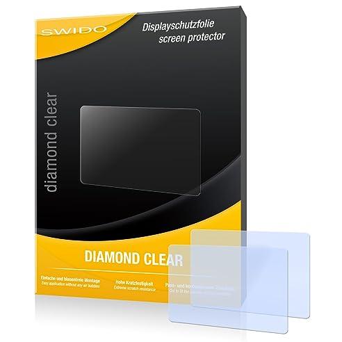 2x Displayschutz Folie Klar Sony Cyber-Shot DSC-WX350 Schutzfolie Displayfolie