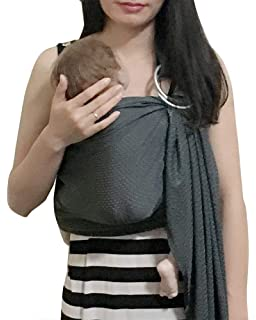 7546bc2df1a Amazon.com   Hango Breathable Baby Carrier with Polyester and ...