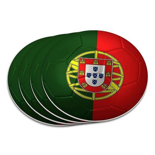 Compra Bandera de Portugal Balón de fútbol Futbol fútbol posavasos ...