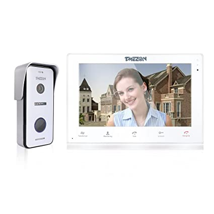 Amazon Tmezon 10 Inch Wirelesswired Wifi Ip Video Door Phone
