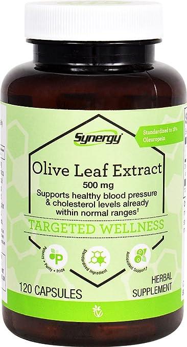 Vitacost Synergy Olive Leaf Extract - Standardized -- 500 Milligram - 120  Capsules