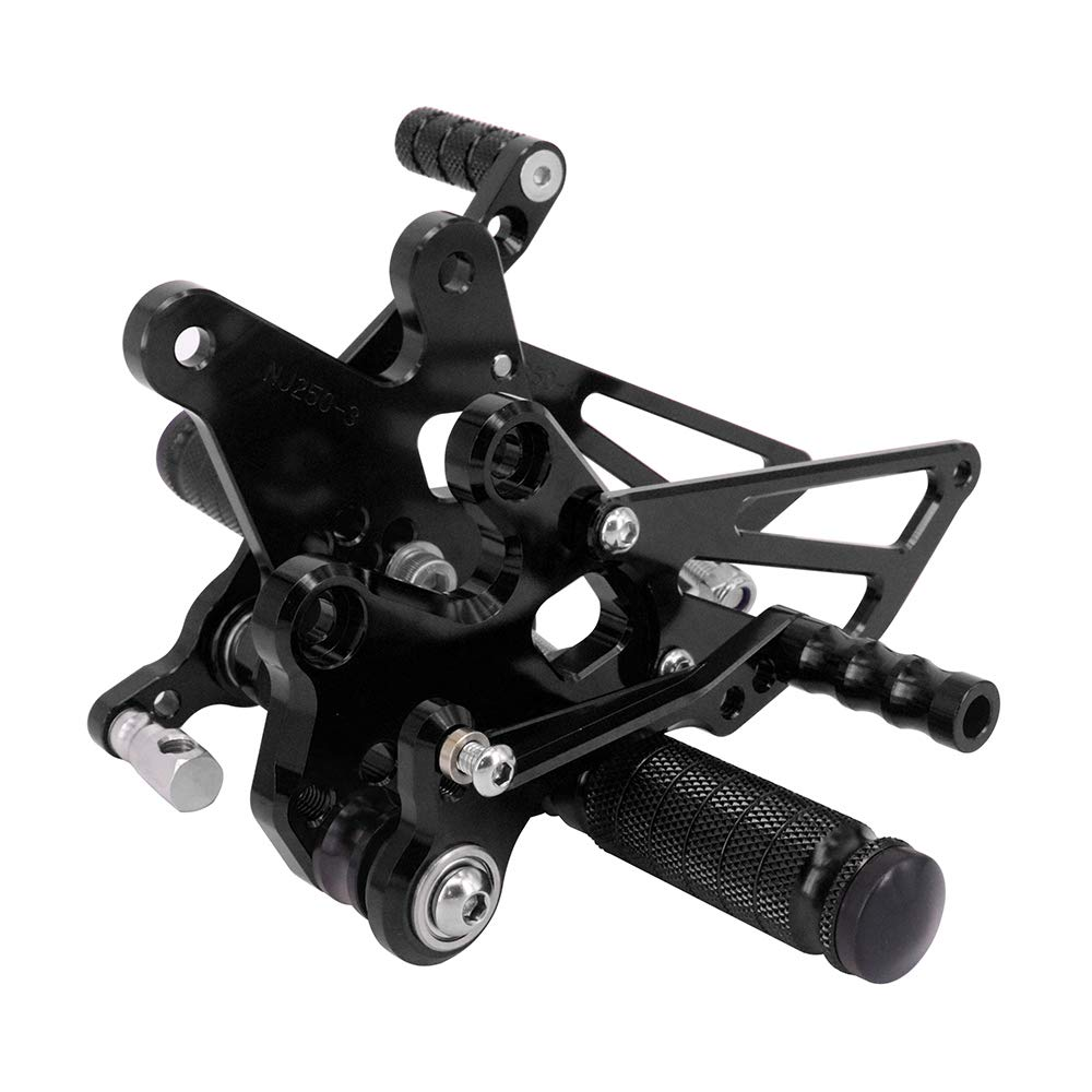 Amazon.com: Rearsets Foot pegs Footrests Adjustable Rear Set ...