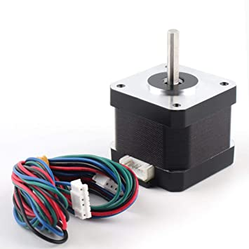 LouiseEvel215 42 Motor Lineal Paso a Paso Bipolar 4 Conductores ...