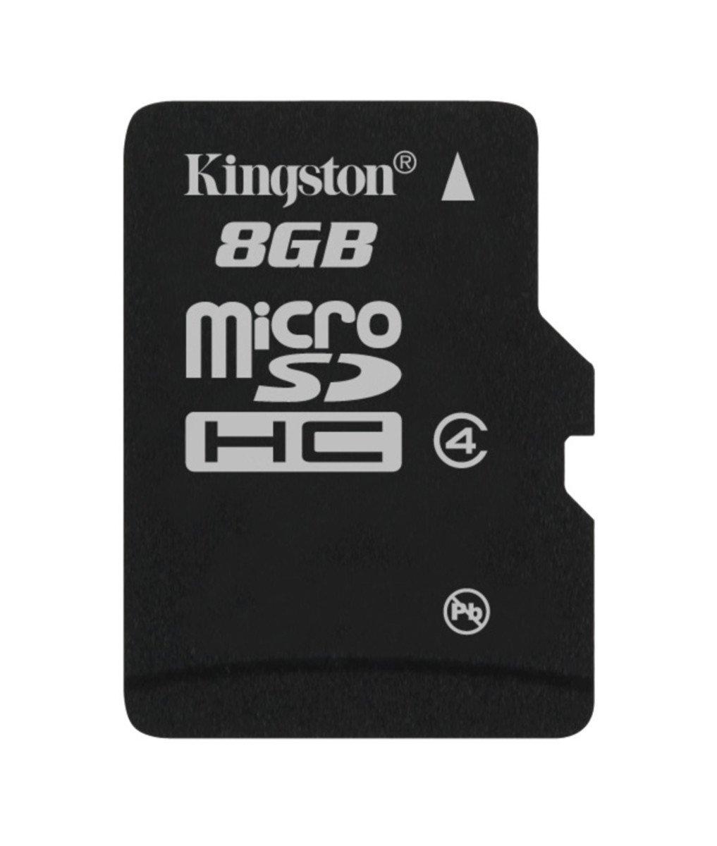 Kingston SDC GBSP Tarjeta microSD de GB clase  V negro