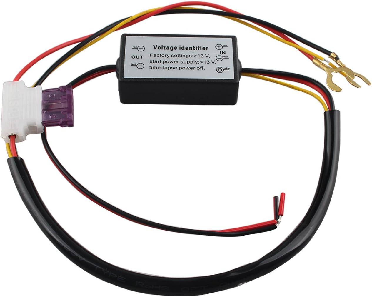 Controlador de luz Diurna LED para Coche DRL Auto On//Off Interruptor de Encendido//Apagado 12 V rel/é de luz regulador FUSD