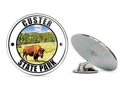 d8d28453a5a033 Amazon.com: NYC Jewelers Round Custer State Park (Black Hills Dakota ...