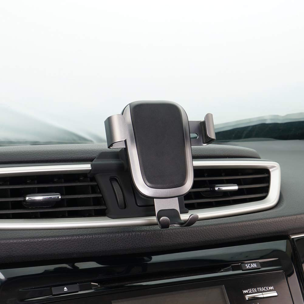 Phone Holder for Nissan Rogue, Dashboard Air Vent Adjustable Cell Phone Holder for Nissan Rogue 2019 2018 2017,Phone Mount for iPhone 8 iPhone X,Wireless Charging Smartphone 5.5~6 in by CLEC