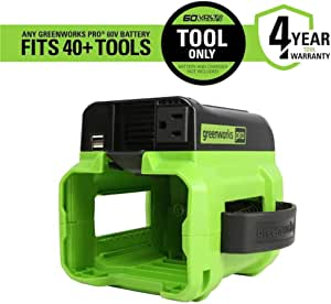Greenworks Pro 300-Watt Battery Operated Power Inverter Model #IV60A00 (Tool Only)