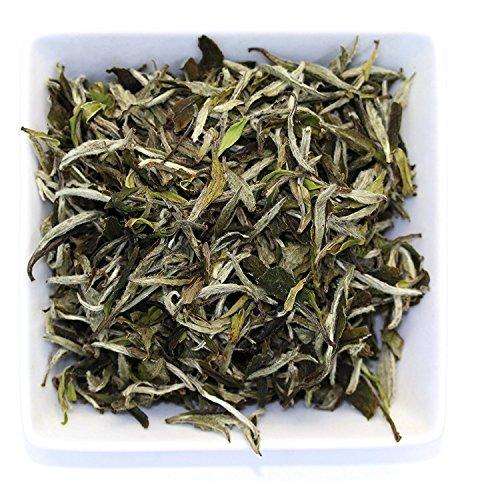 Tealyra - Imperial Grade White Peony - Bai Mu Tan - Fresh White Loose Leaf Tea - Organically Grown - Low Caffeine - High in Antioxidants - 100g (Imperial Organic Sweet)