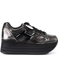 Hogan Scarpe Sneakers Running Casual Sportive da Donna Maxi Platform ... f431a18496c