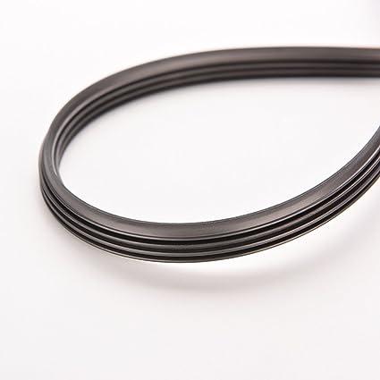 PIXNOR Lámina de Limpiador de Parabrisas de Auto Coche Goma Tiras 24