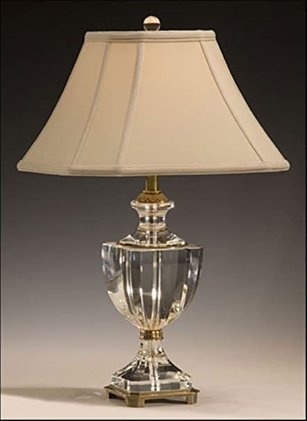 Amazon Com Decorative Crafts 8130 Crystal Brass Table Lamp Home