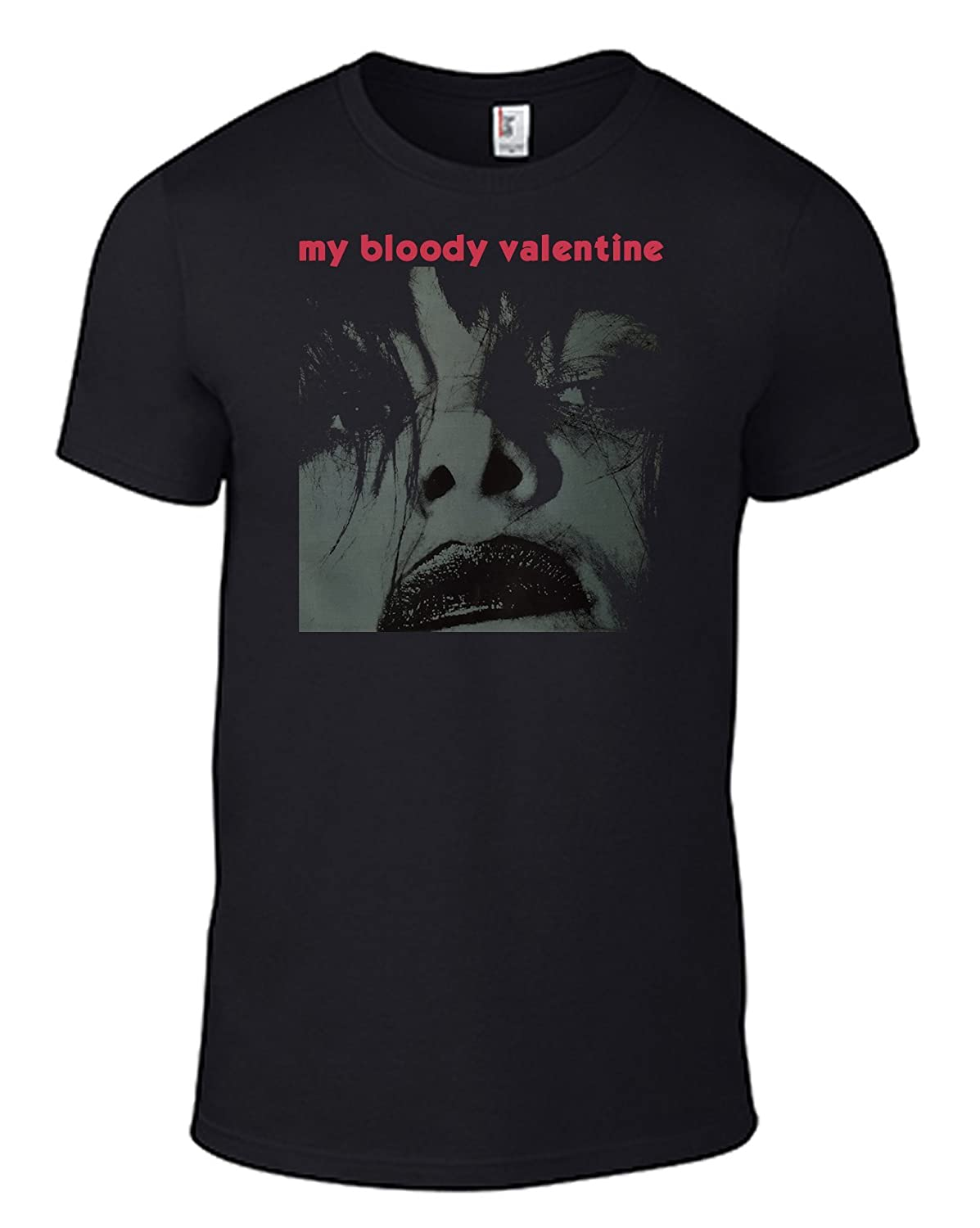 6ccea9247dba0 My Bloody Valentine Feed Me with Your Kisses Band T-Shirt Album CD Artwork  Image Cover & Logo Indie Tee Print B