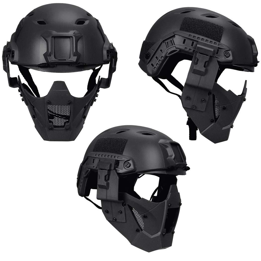Amazon.com: IDOGEAR Máscara de Airsoft, máscara táctica para ...